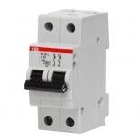 2CDS242001R0064 - Автоматический выключатель ABB SH202L, 2-полюсный, 6А, класс С