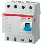 2CSF204001R3400 - УЗО ABB, 40A, тип AC, 300mA, трехфазное, серия F204