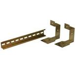 GD4006 - DIN-рейка с крепежом на 14 модулей (400мм) для шкафов ABB SR