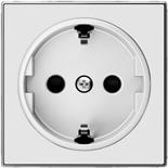 2CLA858800A1101 - Накладка для розеток SCHUKO, ABB SKY (альпийский белый)