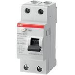 2CSF202004R1400 - УЗО ABB, 40A, тип AC, 30mA, двухфазное, серия FH202