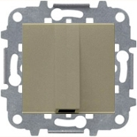 N2207 CV (1 шт.) + N2271.9 (1 шт.) - Вывод кабеля с зажимом, АВВ Зенит (шампань)