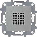 N2219 PL (1 шт.) + N2271.9 (1 шт.) - Зуммер, звуковая мощность на расстоянии 1м - 76Дб, АВВ Зенит (серебристый)