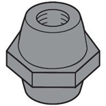 EV1125 - Изолятор для шин 20,25,50x5 М8x50, ABB (25шт.)