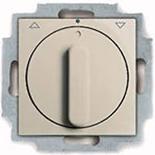 1101-0-0923 - Выключатель жалюзи с поворотной ручкой, без фиксации (слоновая кость)