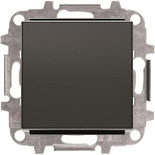 8102+2CLA850100A1501 - Переключатель одноклавишный, 10А, с клавишей ABB Sky (черный бархат)