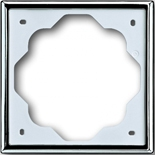 1754-0-4514 - Рамка 1-постовая ABB Impuls (хром)