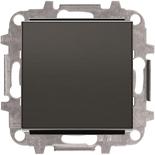 8110+2CLA850100A1501 - Переключатель одноклавишный проходной (перекрёстный), 10А, с клавишей ABB Sky (черный бархат)