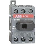 1SCA104811R1001 - Рубильник ABB OT16F3, 16A, 3-полюсный