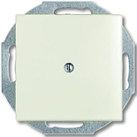 1715-0-0316 - Заглушка с суппортом ABB Basic 55 (шале-белая)