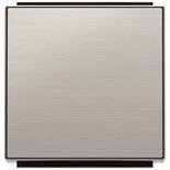 2CLA850100A1401 - Клавиша для выключателей, переключателей и проходных переключателей ABB Sky (нержавеющая сталь)