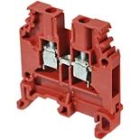 1SNA105032R1500 - M4/6 Клемма винтовая АВВ, 4мм² (красная)