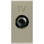 N2150 CV - Розетка TV одиночная ABB Zenit (шампань)