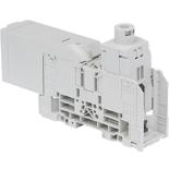 1SNA190009R0000 - D185/55.AF Клемма силовая ABB, для провода в наконечнике под болт и круглого, 185мм² (серая)