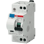 2CSR145001R1064 - Дифференциальный автомат ABB DSH941R, 6A, тип AC, 30mA, 4.5кА, 2M, класс С