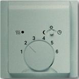 1710-0-3579 - Лицевая панель для терморегулятора АББ Импульс (шампань-металлик)