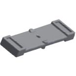 ZX649 - Адаптер шинного держателя (один на полюс), ABB