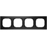 2CLA857400A1501 - Рамка 4-постовая ABB Sky (чёрный бархат)