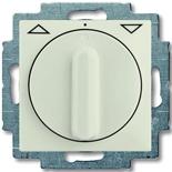 1101-0-0931 - Выключатель жалюзи с поворотной ручкой, без фиксации (шале-белый)