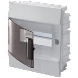 1SLM004101A2202 - Щиток электрический в нишу, АББ Mistral, 8М, IP41 (с клеммным блоком)