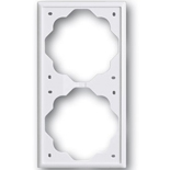 1754-0-4226 - Рамка двойная ABB Impuls (альпийский белый)