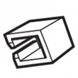 1SNA113550R2400 - Изолирующая заглушка для гребенки PC, ABB EIP