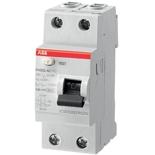 2CSF202004R1250 - УЗО ABB, 25A, тип AC, 30mA, двухфазное, серия FH202