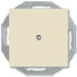 1715-0-0313 - Заглушка с суппортом ABB Basic 55 (слоновая кость)
