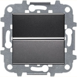 N2201 AN (1 шт.) + N2271.9 (1 шт.) - Выключатель одноклавишный, 16А, ABB ZENIT (антрацит)