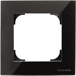 2CLA857100A3101 - Рамка 1-постовая ABB Sky (чёрное стекло)