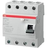 2CSF204004R1250 - УЗО АВВ, 25А, тип АС, 30мА, трехфазное, серия FH204