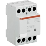 GHE3691102R1004 - Контактор модульный АВВ ESB 63-40, 63А, 4Н.О.