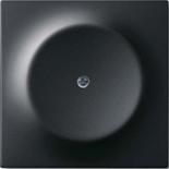 1753-0-0138 - Заглушка с суппортом ABB Impuls (черный бархат)