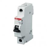 2CDS251001R0064 - Автоматический выключатель ABB S201, 1-полюсный, 6А, класс C