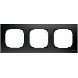 2CLA857300A1501 - Рамка 3-постовая ABB Sky (чёрный бархат)