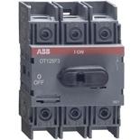 1SCA105033R1001 - Рубильник ABB OT125F3, 125A, 3-полюсный