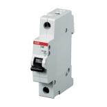 2CDS251001R0065 - Автоматический выключатель ABB S201, 1-полюсный, 6А, класс B