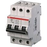 2CDS283001R0061 - Автоматический выключатель АВВ S203P-D6, 3-полюсный