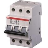 2CDE283001R1125 - Рубильник ABB E203g, 125A, 3-полюсный (серый переключатель)