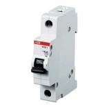 2CDS241001R0064 - Автоматический выключатель ABB SH201L, 1-полюсный, 6А, класс C