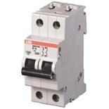 2CDS282001R0377 - Автоматический выключатель АВВ S202P-K6, 2-полюсный
