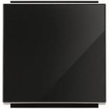2CLA850100A2501 - Клавиша для выключателей, переключателей и проходных переключателей ABB Sky (черное стекло)