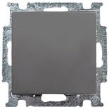1012-0-2174 - Выключатель одноклавишный ABB Basic 55, (шато-черный)