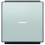 2CLA850130A1301 - Клавиша для 1-клавишных выключателей, переключателей, кнопок с линзой подсветки, ABB Sky (серебристый алюминий)