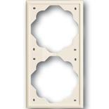 1754-0-4313 - Рамка 2-постовая ABB Impuls (слоновая кость)
