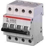 2CDE284001R1125 - Рубильник ABB E204g, 125A, четырехполюсный (серый переключатель)