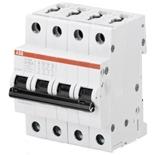 2CDS254001R0377 - Автомат АВВ S204-K6, 4-полюсный
