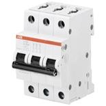 2CDS253001R0378 - Автоматический выключатель АВВ S203-Z6, 3-полюсный